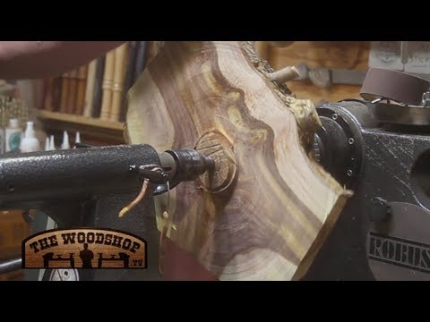 Woodturning Crotch Wood | Carl Jacobson