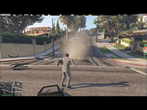 [WIP] GTA V - Superman - More powers and FX: Supersonic, wind blow, freeze