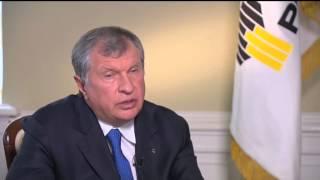 Интервью главы «Роснефти» Игоря Сечина телеканалу «Россия 24»