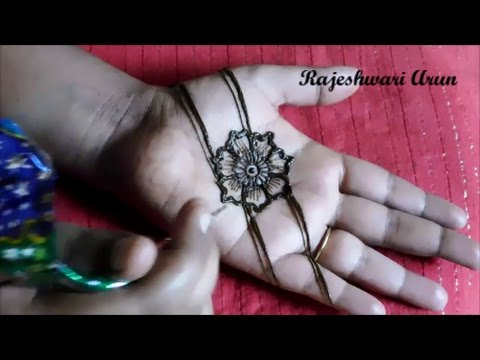 Simple Easy Mehndi Designs For Hands Step By Step For Beginners