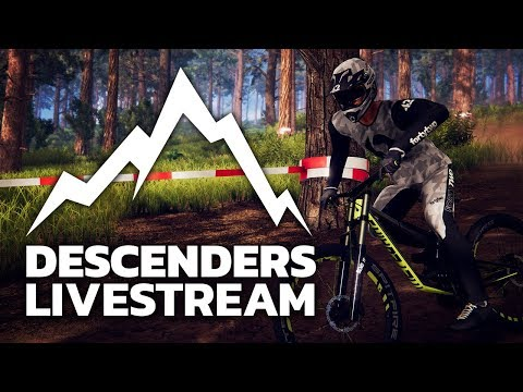 Extreme First-Person Mountain Biking - Decenders Livestream