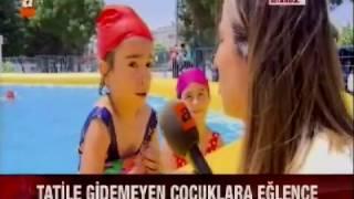 Atv- Sultangazi Belediyesi Portatif Yüzme Havuzu