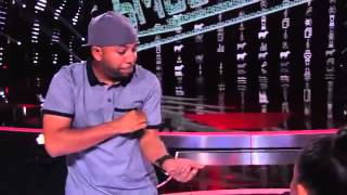 Smoothini  Street Magician Mystifies With a Shoelace   America's Got Talent 2014
