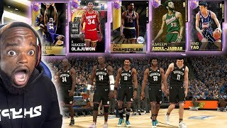 99 OPALS ALL 7' FOOT TALL CENTER LINE-UP CHALLENGE!