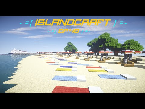 -=[IslandCraft]=- Ep.48 [I actually built something!]