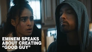 Eminem speaks about creating Good Guy and about Jessie Reyez (part of Kamikaze Interview)