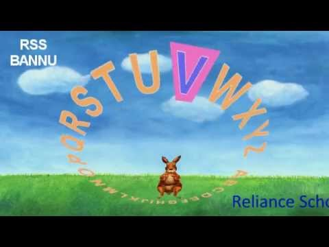 RSS BANNU A to z alphabets