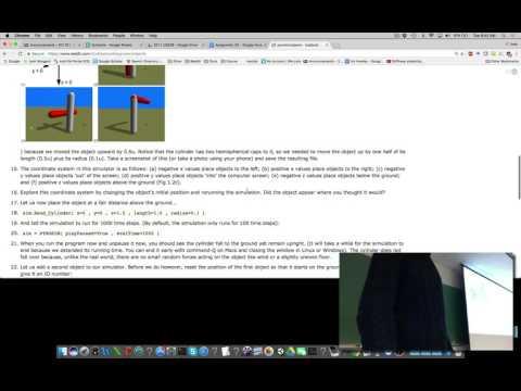 Lecture 03 of Evolutionary Robotics course at UVM (filmed Tues Jan 24, 2017)