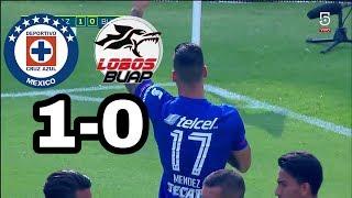 Cruz azul vs Lobos Buap | Resumen Jornada 14 Liga Mx