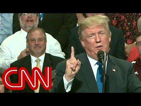 Trump mocks Christine Blasey Ford's testimony