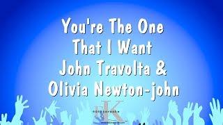 You're The One That I Want - John Travolta & Olivia Newton-john (Karaoke Version)