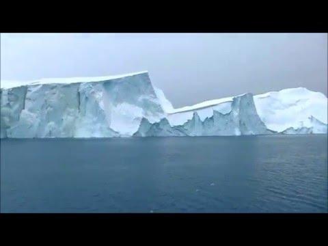 Glacier in Ilulissat Greenland