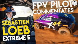 FPV Drone Flying with Off-Road Rally Legends CLEAN