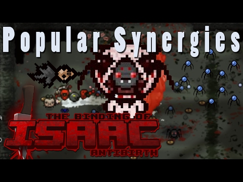 The Binding of Isaac Antibirth | The Spooder Queen | Popular Synergies!