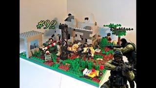 Лего самоделка #92 на тему Война (засада)