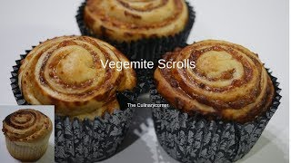 Vegemite & Cheese Scrolls