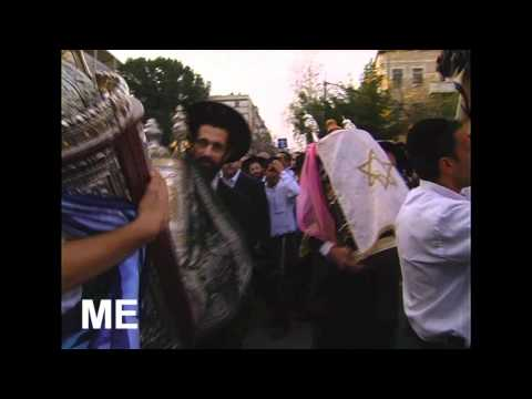 A Sefer Torah to the synagogue of Rabbi Mordechai Eliyahu