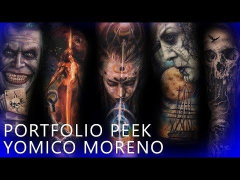 Portfolio Peek - Yomico Moreno
