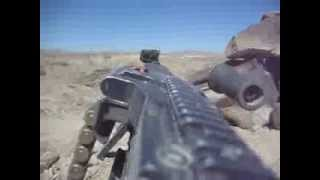M240B Machine Gun Test Fire