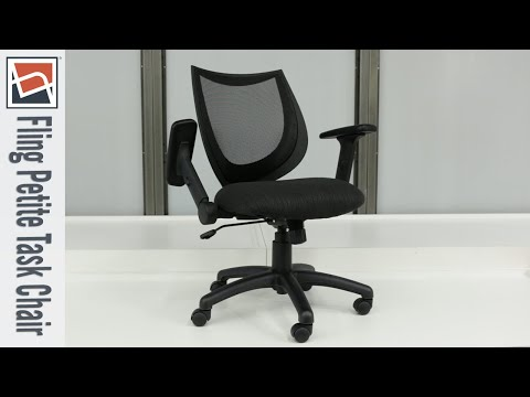 Petite Office Chairs | Officient Fling Task Chair | National Business Furniture