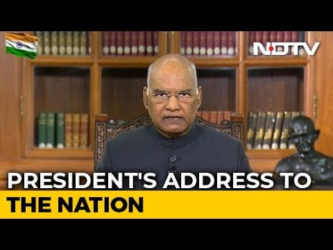 """Justice, Freedom, Equality..."": President Talks Of Constitutional Duties"