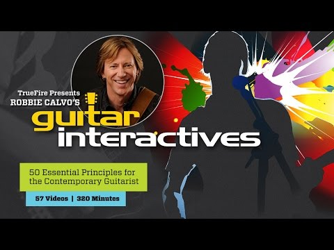 Guitar Interactives - Intro - Robbie Calvo