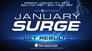 January Surge 2016: Get Results