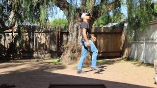Blue Jean Night Line Dance Demo and Tutorial