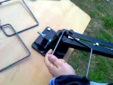 Dobladora manual estribos olympia cordoba argentina for Manual de construccion