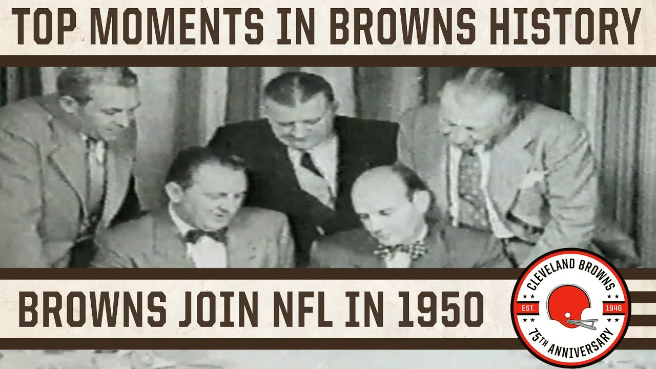 Top 10 Moments: Cleveland Browns join NFL in 1950