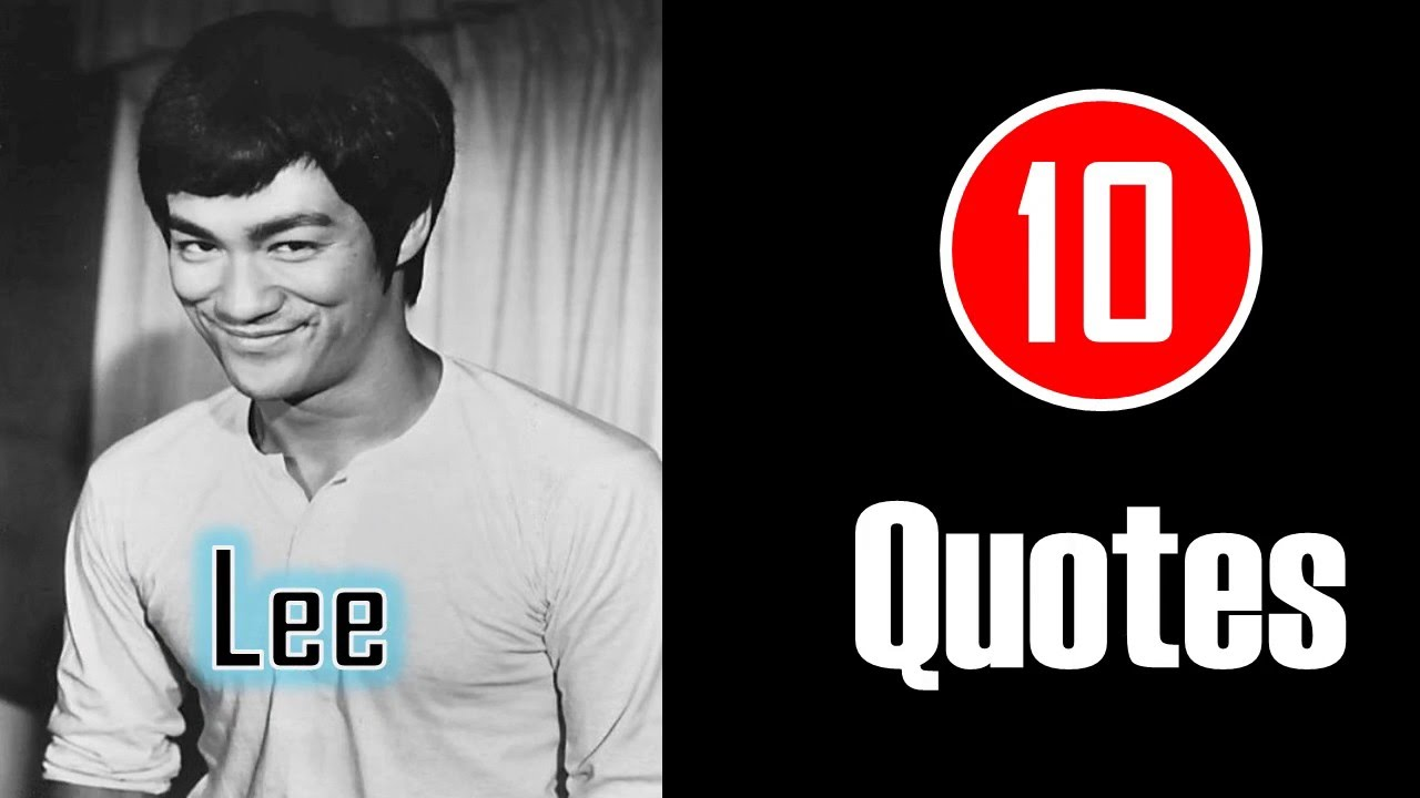 10 Quotes Bruce Lee Do Not Pray For An Easy Life Youtube