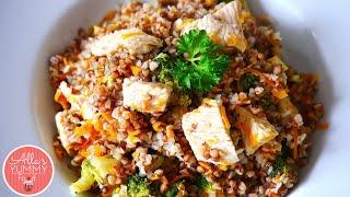 Buckwheat with Turkey & Vegetables - Гречка с овощами и индейкой
