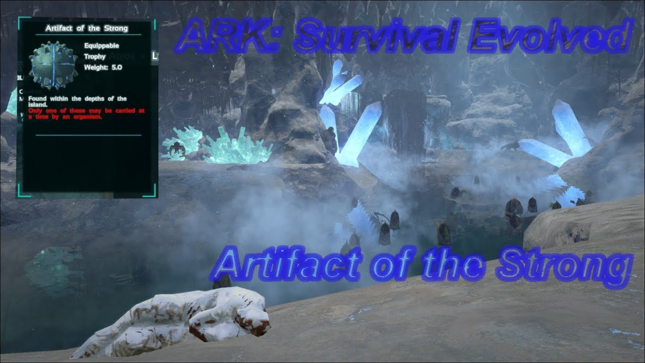 Ark Survival Evolved Swamp Cave Artifact Seaso - Year of