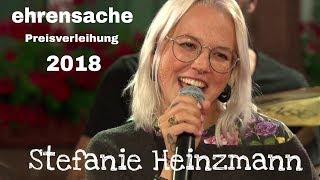Stefanie Heinzmann - SWR Ehrensache Preisverleihung Live @ Exerzierplatz Pirmasens 26.8.2018