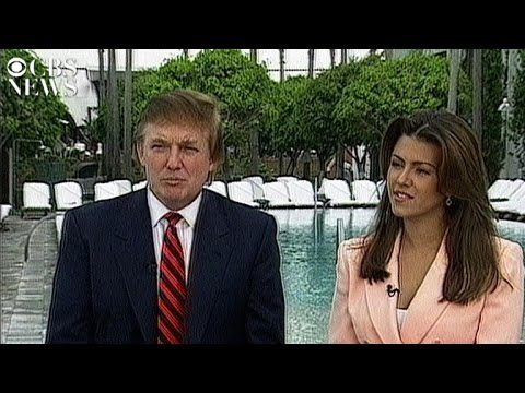 Donald Trump and Alicia Machado