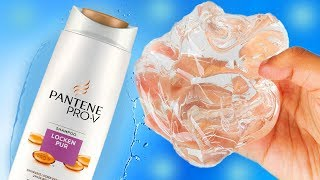 Shampoo Salt Slime, No Glue Clear Slime with Shampoo and Salt, Ultimate Makeup Slimes... #03