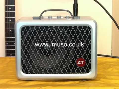 Review of the ZT Lunchbox LBG2 Ultra-Compact Guitar Amplifier