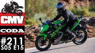 Kawasaki Ninja 125, Malaga, zakręty i trochę o wyjeździe do Hiszpanii. CMV#211