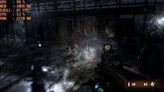GTX 1060 6GB + i5 7500 - Metro 2033 Redux [Max Settings/1080p]