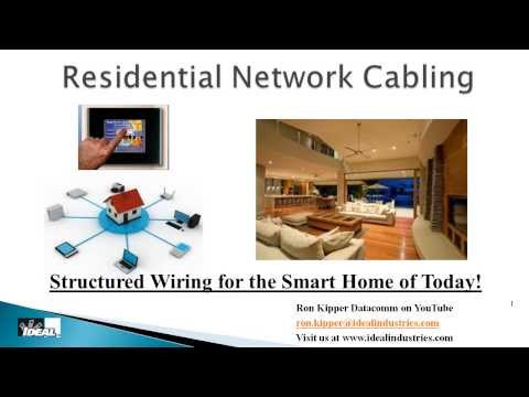 Residential Structured Wiring Systems Part 1 Why and How to Wire a Home