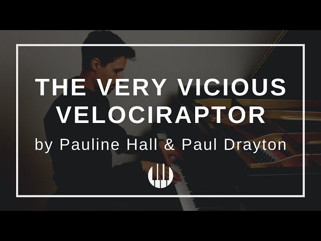 The Very Vicious Velociraptor by Pauline Hall and Paul Drayton