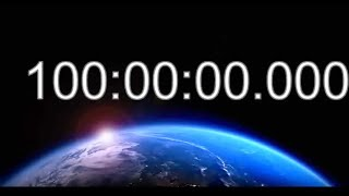 100 Hour Timer Countdown - 100 Hrs Video - 100h Video Countdown - 100 Stunden Timer