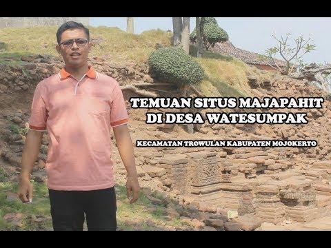 Temuan Situs Majapahit Di Desa Watesumpak Trowulan