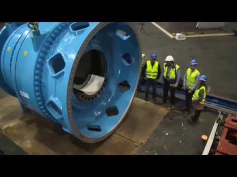 WindEnergy Hamburg 2016 - World's biggest wind turbine gearbox