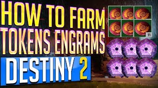 Destiny 2 How to FARM NESSUS TOKENS - LOOT CAVE FARMING CHESTS Legendary Engrams Bright Engrams
