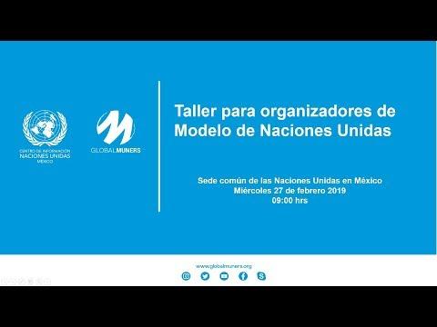 Taller para organizadores de Modelos de Naciones Unidas