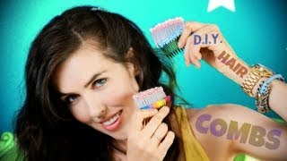 ♥ D.I.Y. ♥ Hair Combs! Thumbnail