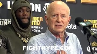 (WOW) DEONTAY WILDER'S MANAGER EXPOSES EDDIE HEARN & ANTHONY JOSHUA WITH PROOF THEY'RE