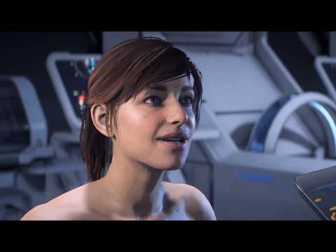 Naked Sara Ryder Wakes Up - Mass Effect Andromeda Intro (with Nude Mod) thumbnail
