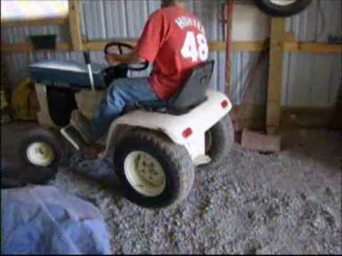 John Deere Patio Edition 112   YouTube